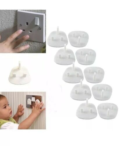 20x Plug Socket Covers Babies Children/'s Safety Protector for UK 3 Pin Socket UK