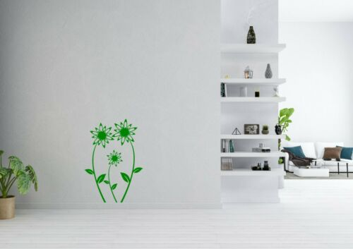 Lot de fleurs Wall Art Home nature DECOR Leafs decal vinyl Autocollant