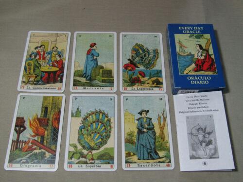 52 Orakelkarten Tagesorakel  Vera Sibilla Wahrsagen Hellsehen Spiritualität