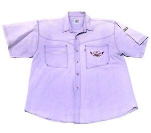 Levi-s-Authentic-Western-Wear-Vintage-RARE-Men-s-501-Embroider-Shirt-Size-L-XL