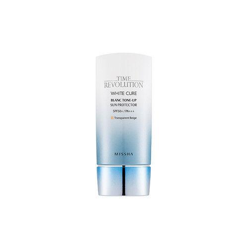 [Missha] Time Revolution White Cure Blanc Tone-Up Sun Protector SPF50+ PA+++50ml
