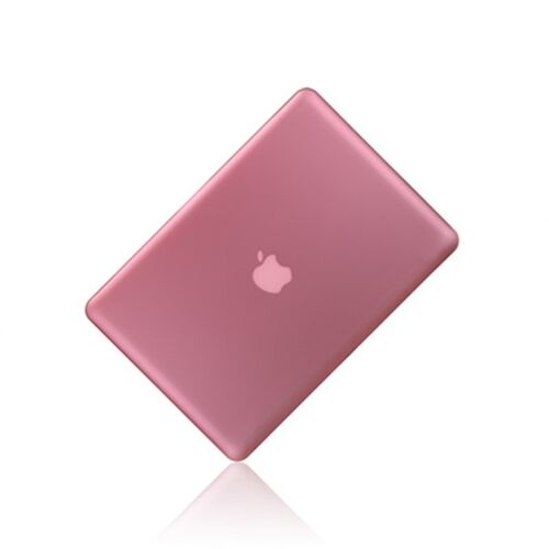 """NEW Rubberized PINK Hard Case Cover for Apple Macbook PRO 13/"""" 13.3 A1278"""