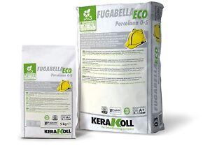 Kerakoll fugabella Eco Flexible Carreau Grout 5 kg Classic 05
