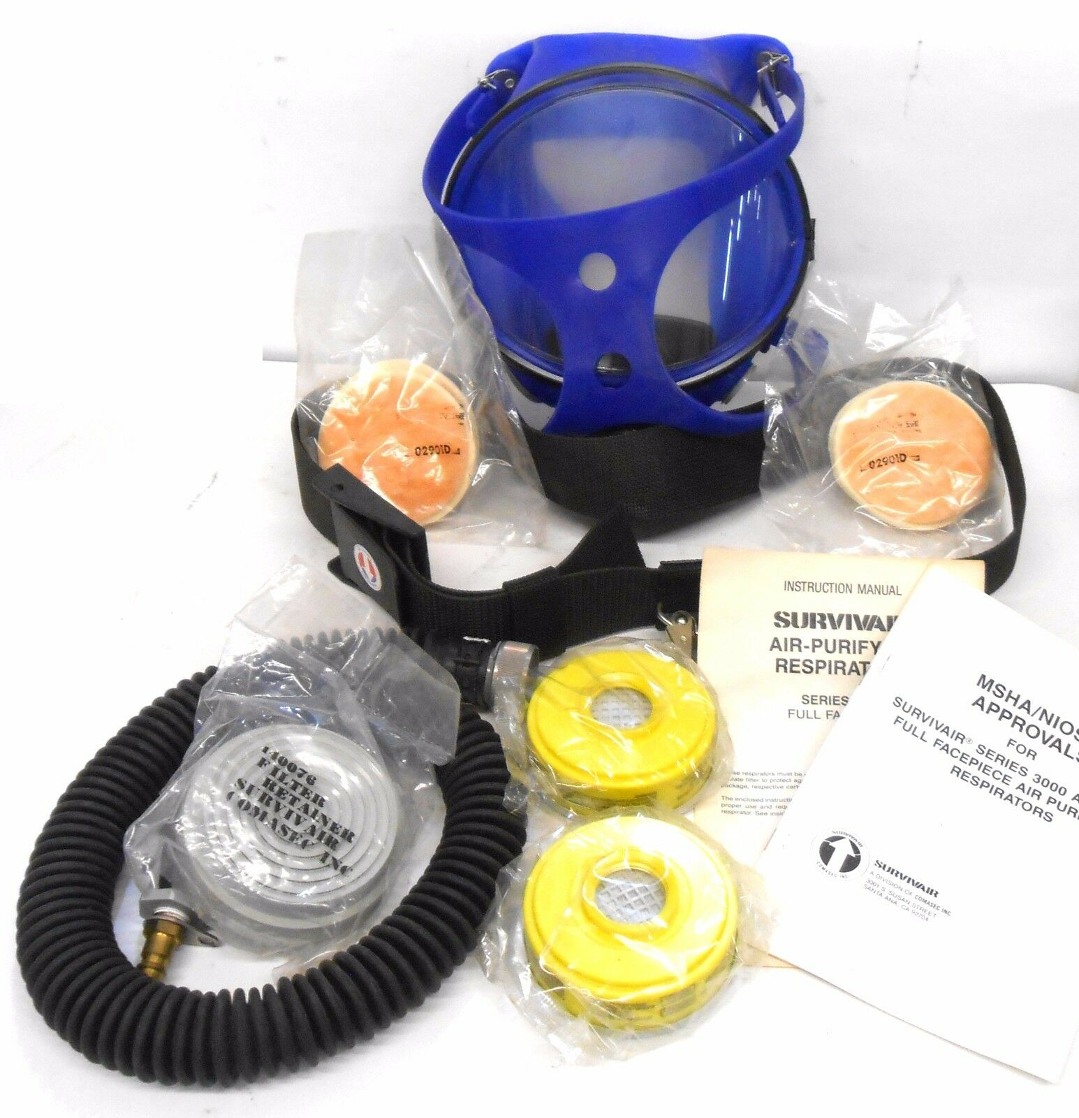 SUVIVAIR 4200-00 FULL FACE AIR PURIFYING RESPIRATOR
