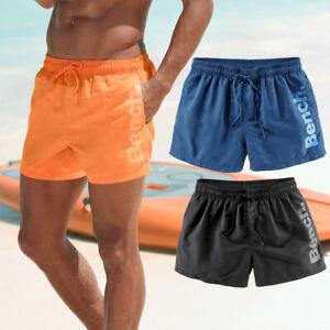 Badeshorts Badehose Herren Männer BENCH weich modern Kordel Taschen Strand Logo