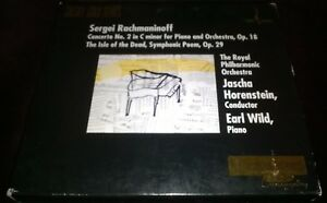 HORENSTEIN-WILD-RACHMANINOFF-PIANO-CONCERTO-NO-2-CD-24K-GOLD-CHESKY-CG902-TAS