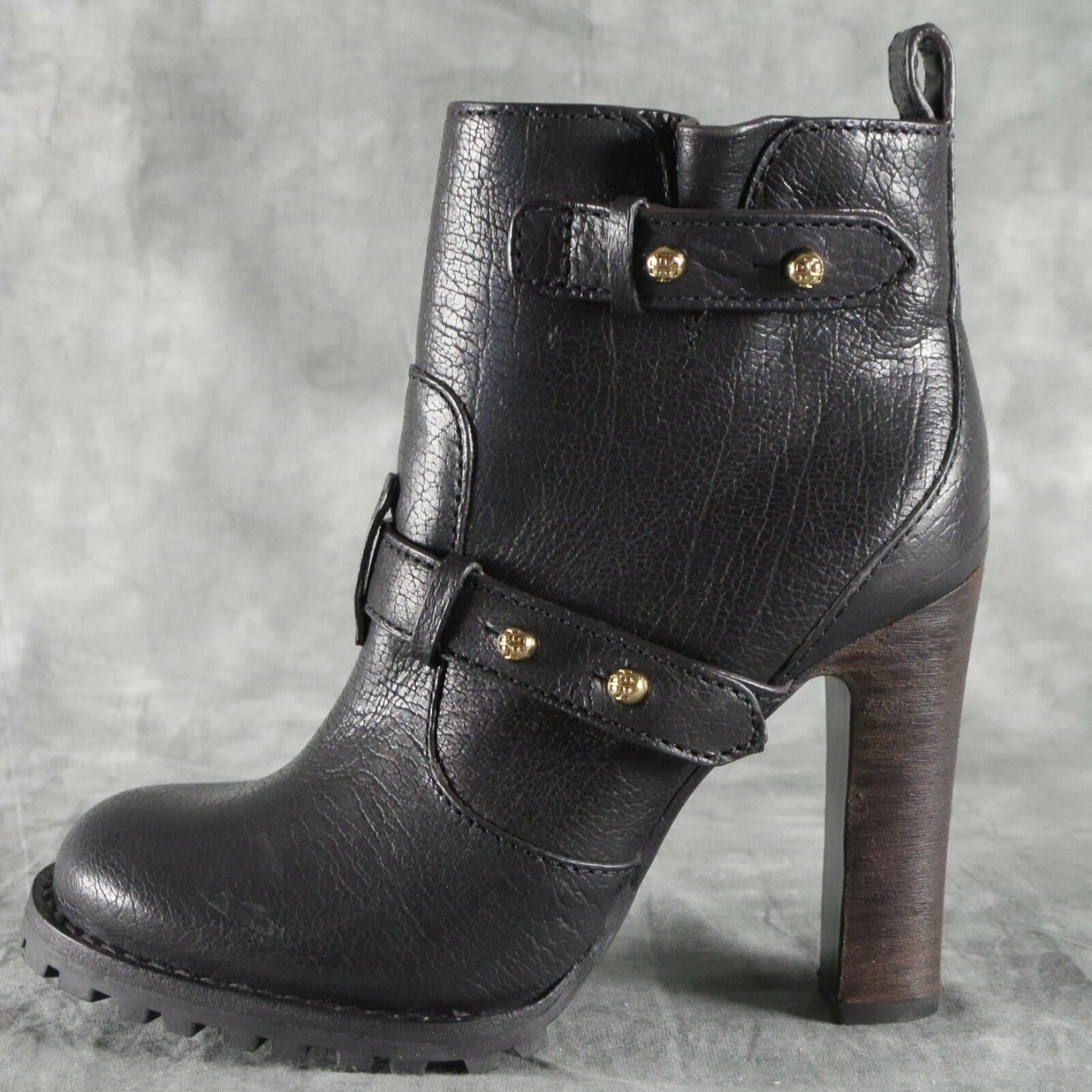 Tory Burch Landers Black Ankle Boots Women's Women's Women's size 9 M New NWOB  450 ANB 1229f2