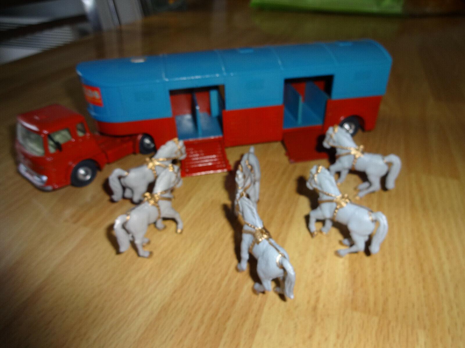 CORGI giocattoli Superbe Restauration d'un BEDFORD 2110159 scatola HORSE