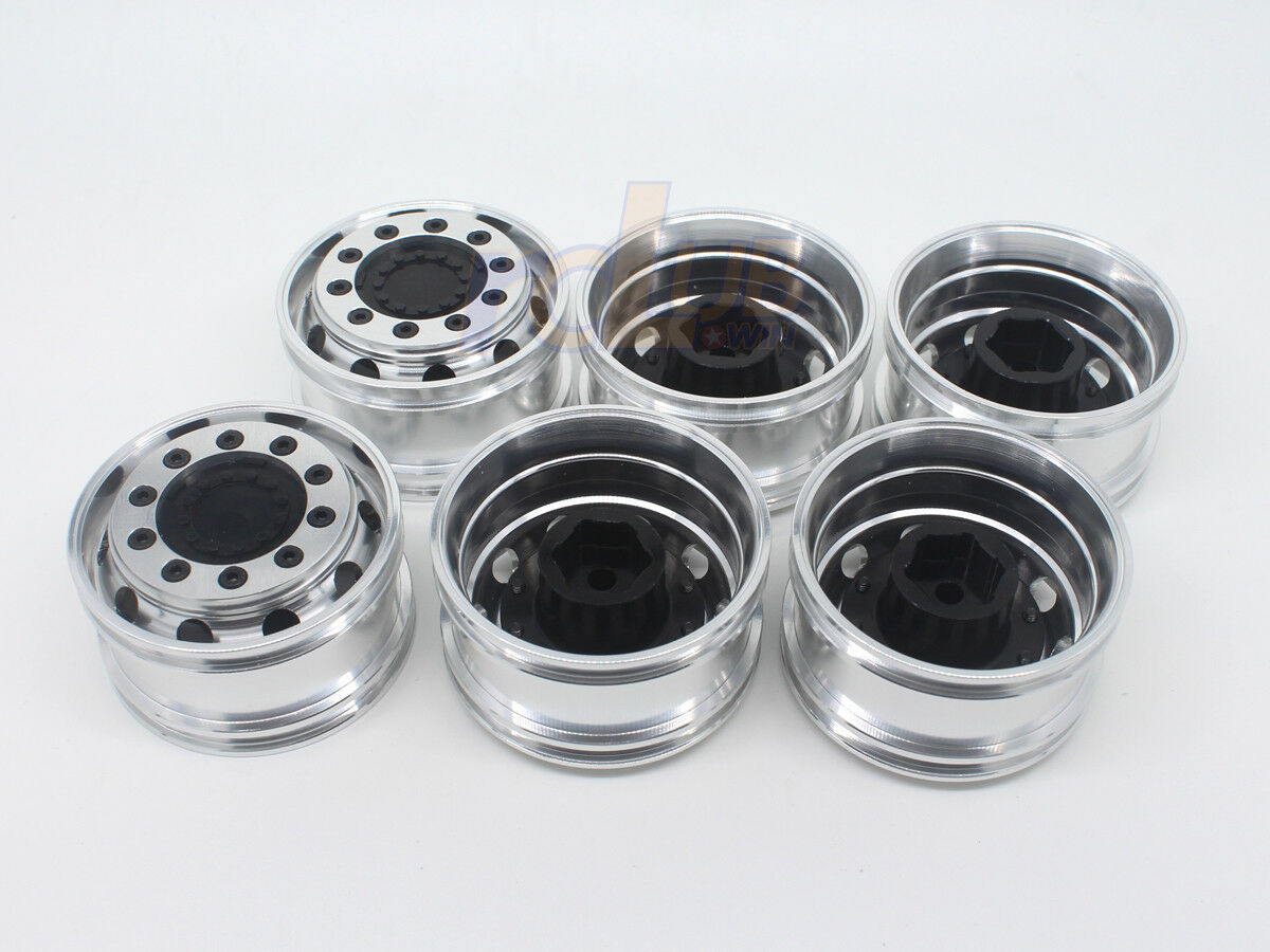 Aluminum CNC wheels for 3-Axle semi-trailer (6pcs)