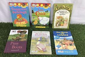 Ladybird-Childrens-Book-Bundle-X-6-Good-Condition