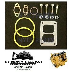 Details about Gasket Kit Turbo Mounting Caterpillar C15 6NZ 3406E 2WS CAT  1S4295 5H7704 2N2765