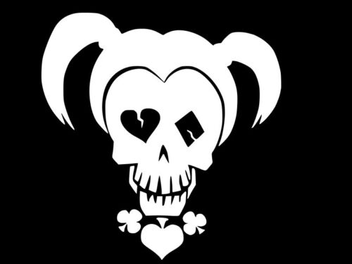 Harley Quinn Suicide Squad Vinyl Decal Car Wall Window Sticker CHOOSE SIZE COLOR