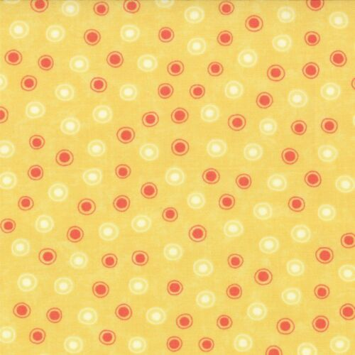 Chance de fleurs soleil dots tissu par sandy gervais moda 17767 matériau par fq//mtr