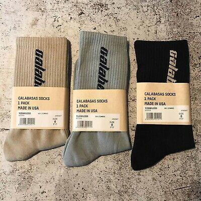 Pack Calabasas Socks Black Grey Tan