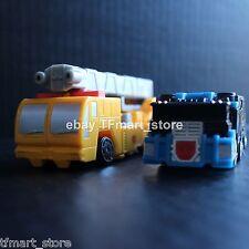 Transformers RID Spychanger Yellow Optimus Prime Black Ultra Magnus Mini Costco