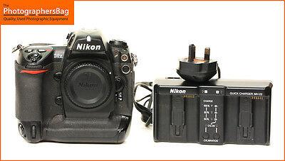 Nikon D2X Digital SLR Camera Body & Battery, Charger  Free UK Postage