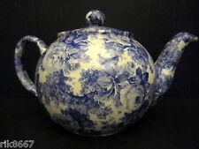 1 Heron Cross Pottery Laura Blue Chintz English 3 Cup Tea Pot or 2 mugs