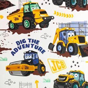 Officiel-Jcb-Papier-Peint-Enfants-Garcons-Mineurs-Dumptrucks-WP4-JCB-DTA-12