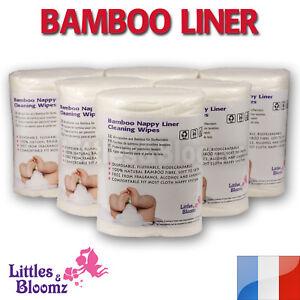 Bambou biod gradable flushable lingettes liners rouleau pour couches lavable ebay - Ou acheter couche lavable ...