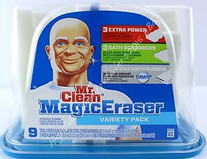 Mr Clean Magic Eraser Variety Pack Extra Power Bath