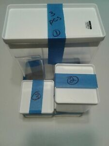 MADE BY DESIGN PLASTIC CANISTER 3 PIECE SET