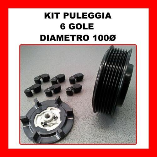 KIT PULEGGIA COMPRESSORE ARIA CONDIZIONATA AUDI A4 1.9 TDI DAL 2001 8E0260805AG