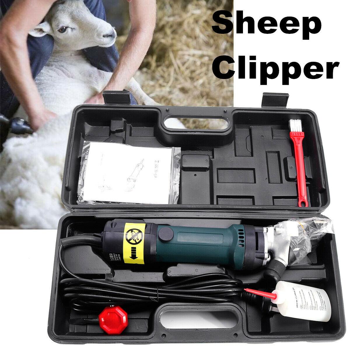 690W ELETTRICO Pet PECORE TOSATURA Clipper Clipper Clipper a taglio Fattoria Capra Alpaca Lana Cut Trimmer f82147