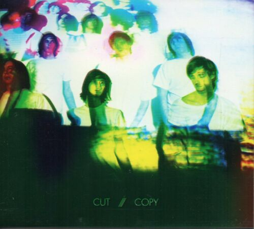 1 of 1 - CUT COPY - IN GHOST COLOURS CD 15 TRACKS 2008 DIGIPAK / PRINTED CLEAR SLIPCASE