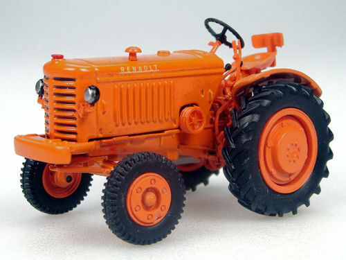 New Bubble Pk Tractor 9 Renault R 3042 Tractor 1950 Orange 1//43 Scale