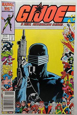 MARVEL 1986 GI JOE # 53 COMIC BOOK NICE CONDITION