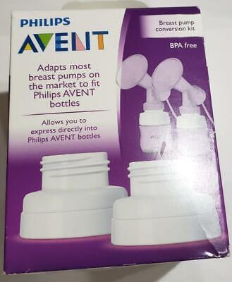 Philips Avent Breast Pump Conversion Kit W 4 Adapts Medela