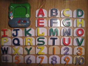LeapFrog Magnetic Fridge Phonics + Numbers Complete Set - Musical Learning Toy