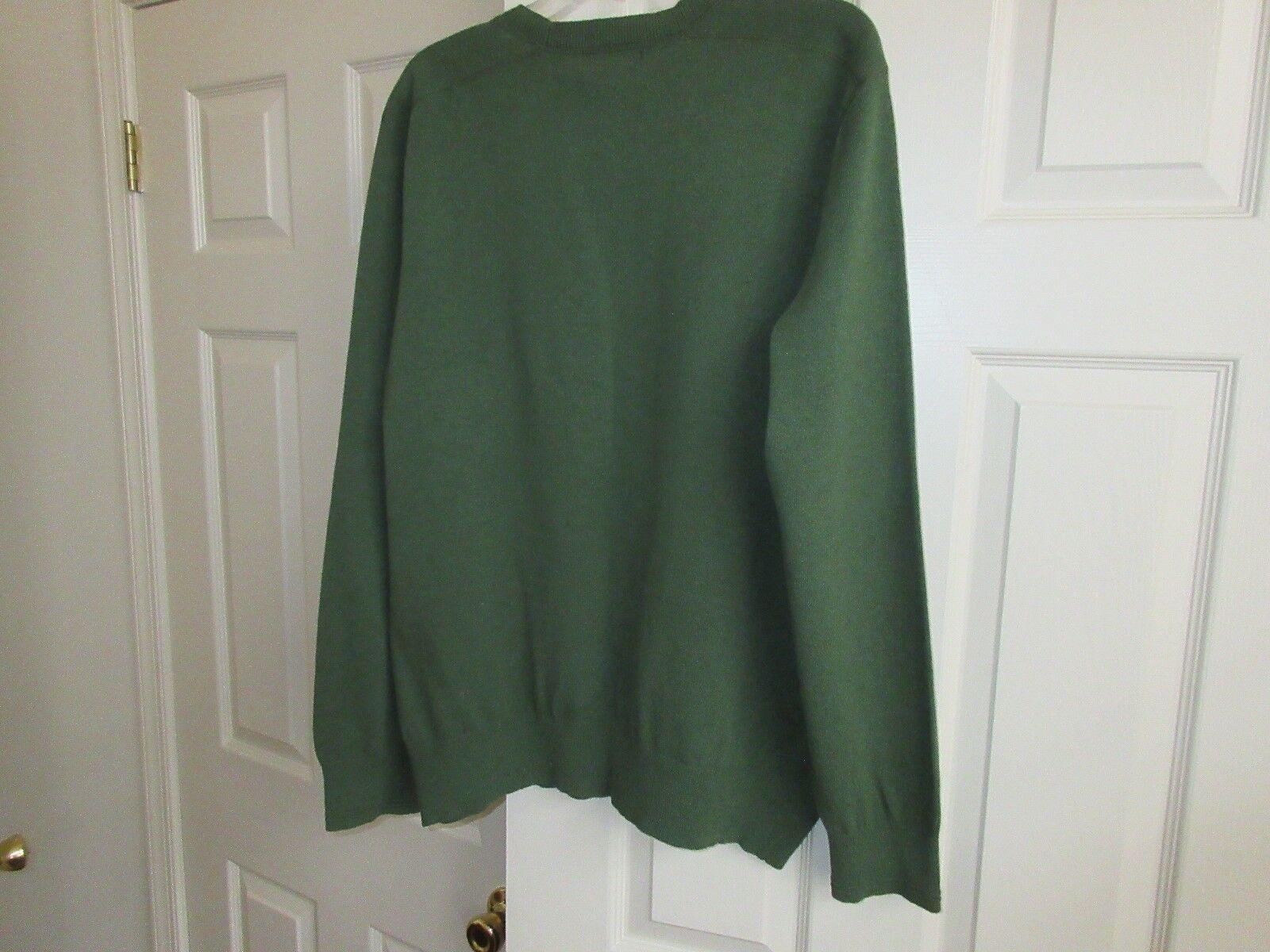 Banana Republic , Mens Sweater , Size XL , Green , 75%