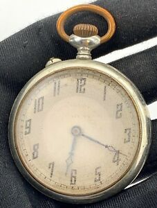 H-Ross-Head-amp-Co-Brevet-Main-Manuel-Vintage-46-5-mm-Pas-Marche-pour-Parts