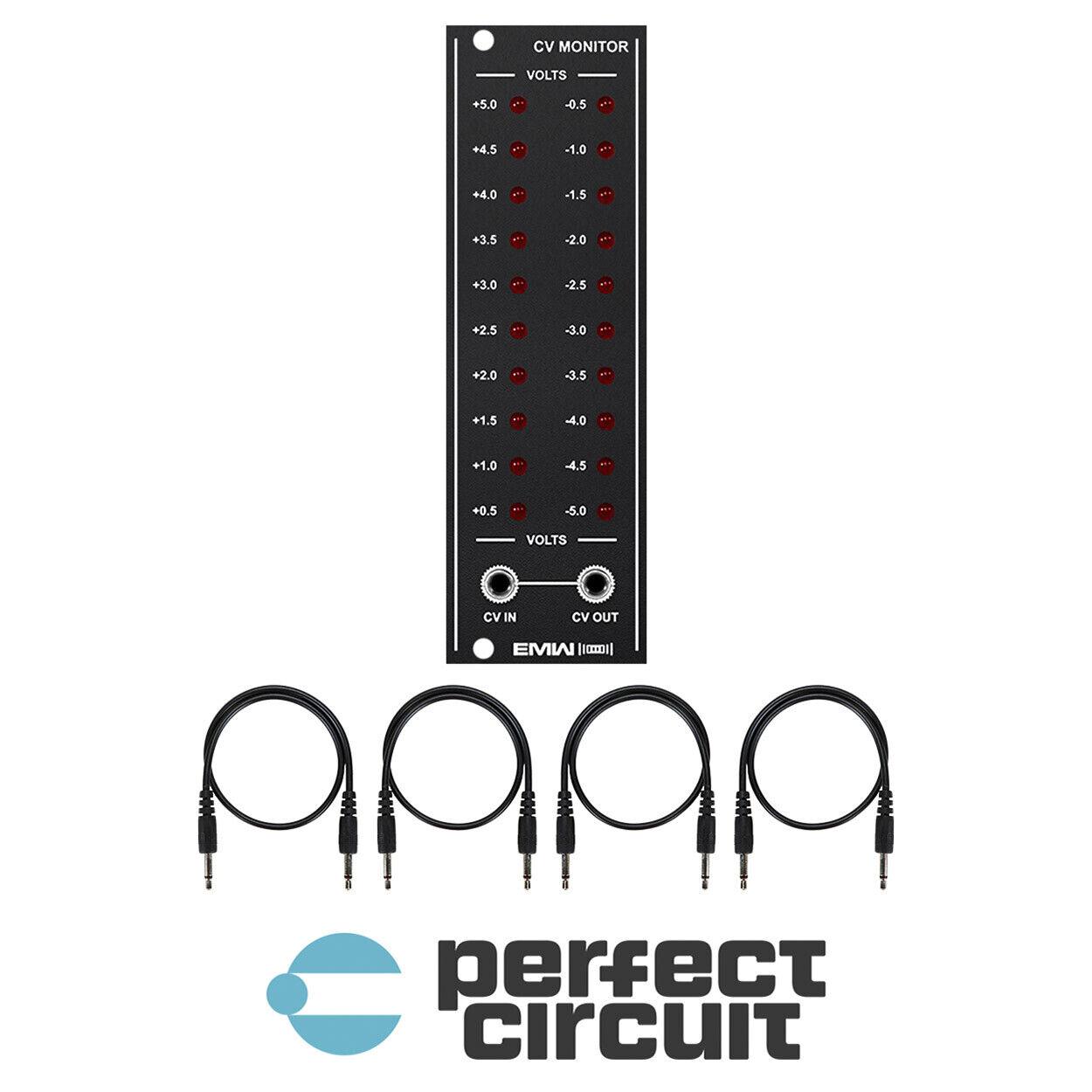 EMW CV Monitor Modular schwarz EURORACK - NEW - PERFECT CIRCUIT