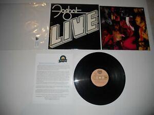 Foghat-LIVE-039-77-1st-Analog-VG-Bearsville-BRK-6971-USA-ULTRASONIC-Clean