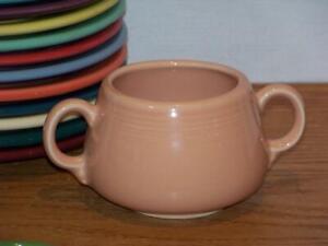 Fiesta-APRICOT-Small-Sugar-Bowl-Figure-8-Sugar-Body-Discontinued-Color