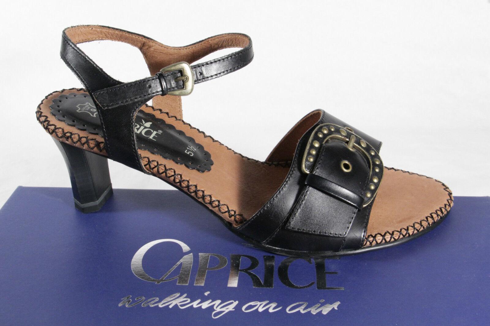 Ladies Caprice Sandals Sneakers Genuine leather New