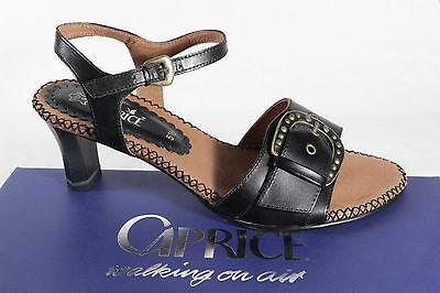 Damen Caprice Sandalen Sandaletten Echtleder schwarz Neu! | eBay