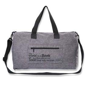 Duffle Bag Duffel Shoulder Sport Gym Mens Women Travel Carry on W ... a5d3485db