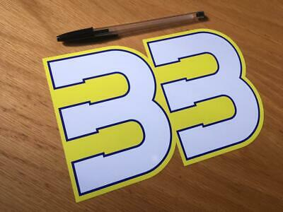 Brad Binder Race Number 33 Large Uk Seller Ebay