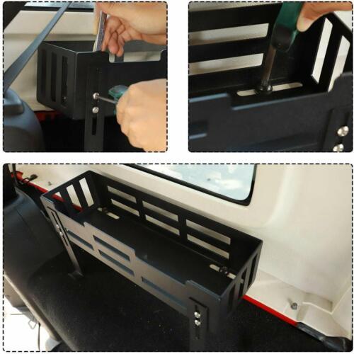 Tail Trunk Organizer Case Heavy Duty Storage Box For 2007-2019 Wrangler JK JL 3x