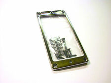 Ruthenium Straight Schaller Humbucker-Rahmen pickup ring one hole 5,7 mm