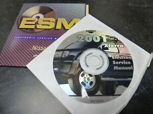 2001 nissan xterra suv shop service repair manual cd 2 4l 3 3l xe se rh ebay com 2001 nissan xterra service repair manual Nissan Xterra Block Heaters