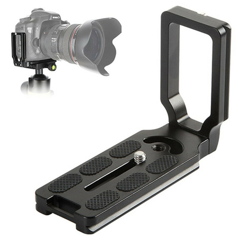 MPU105 Quick Release L Plate Bracket Right Angle For D7200 D5300 D810a D500 XJ