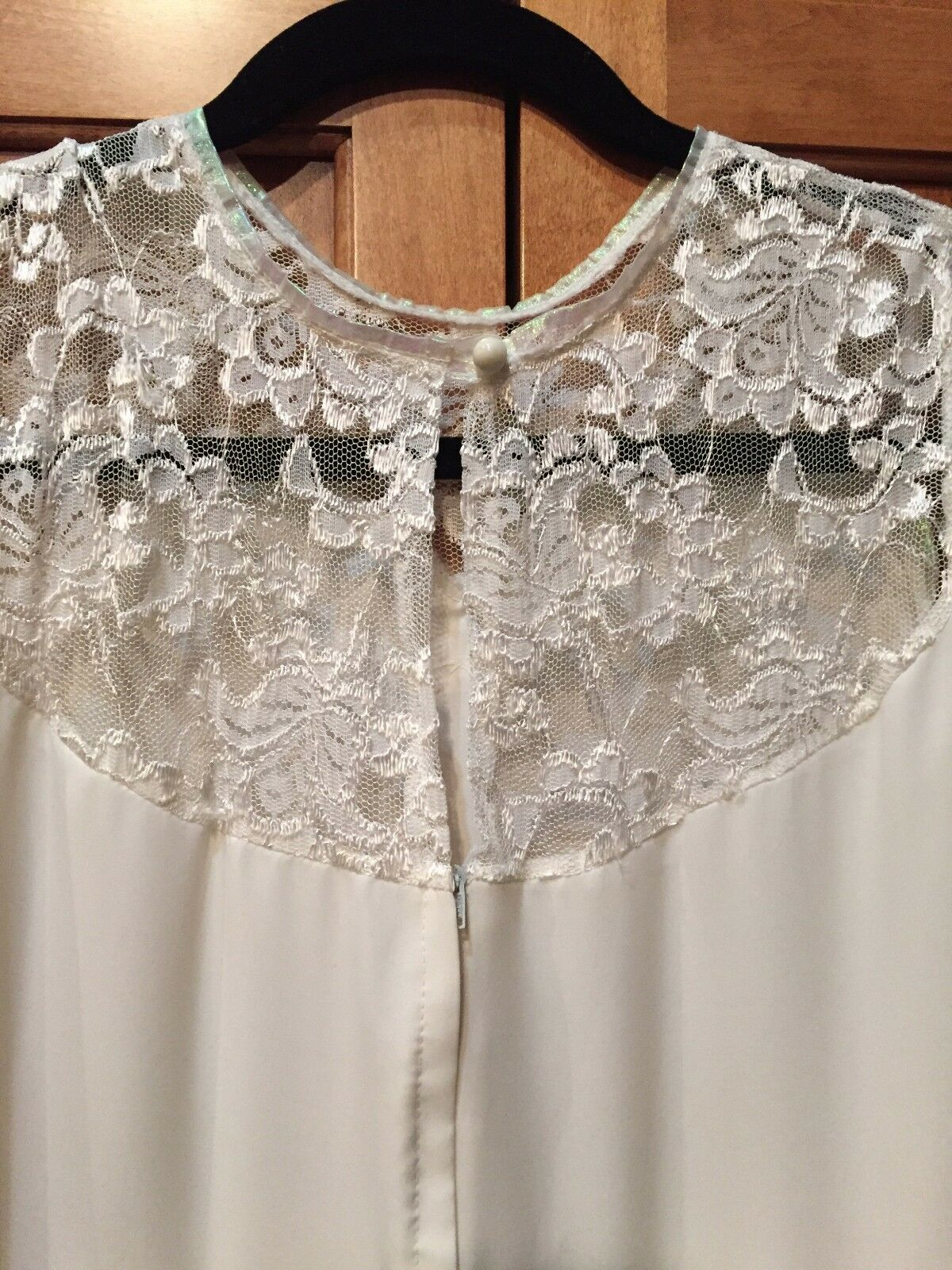 Vintage 60's Wedding Mini Dress - image 5