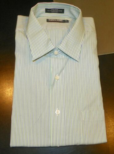 Size 17 x 33 Asst Colors New Kirkland Button Front Shirts