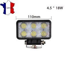 18W LAMPE DE TRAVAIL 12V 24V PUISSANT LED VEHICULES UTILITAIRES UNIVERSEL