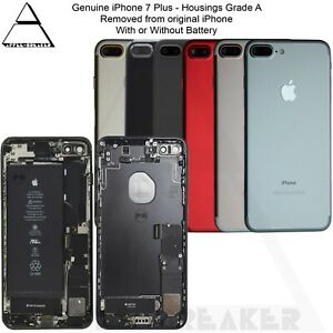 Genuine-Apple-iPhone-7-amp-7-TELAIO-POSTERIORE-RETRO-Plus-Alloggiamento-con-parti-Grade-A