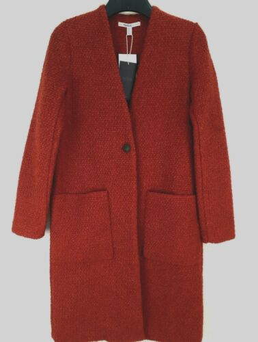 Small Coat Nuovo Ref Size Red Wool 253 1255 Zara ZIaqBHwxq